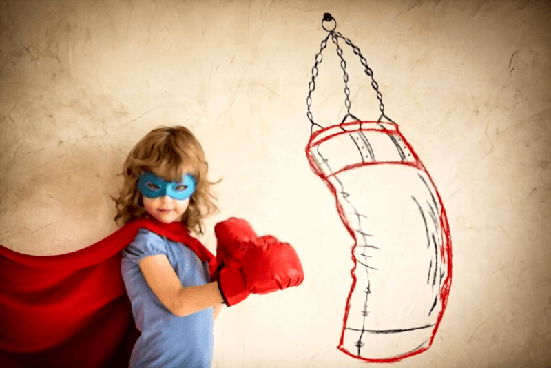 Kids Inflatable Punching Bag Children Free Standing Bounce-Back Boxing Bag for Fitness Practicing Stress Relief HelloCreate Children Boxing Bag